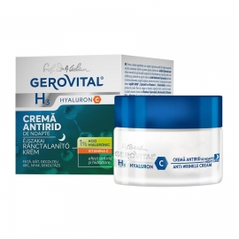 Intensive Anti Wrinkle Cream with Hyaluronic Acid (night care) -- 1