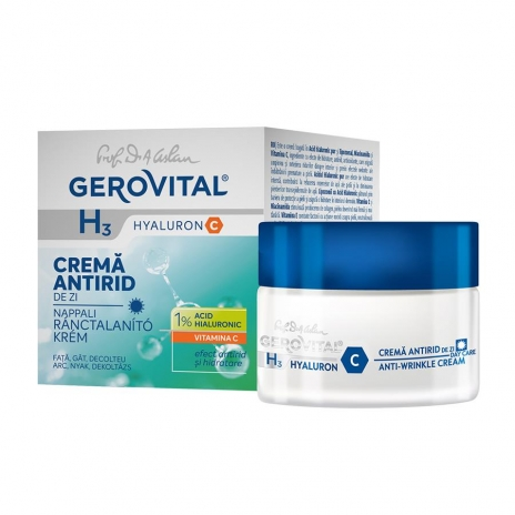 Intensive Anti Wrinkle Cream with Hyaluronic Acid (day care) -- 1