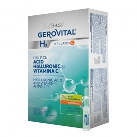 Hyaluronic Acid and Vitamin C Ampolues -- 1